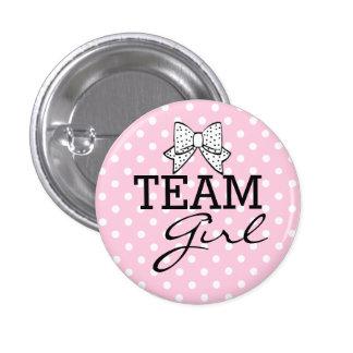 Team Girl-Baby Shower 3 Cm Round Badge