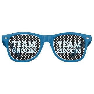 Team Groom Blue Outline Black