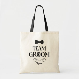 Team Groom - Custom Groomsmen Gift Bags