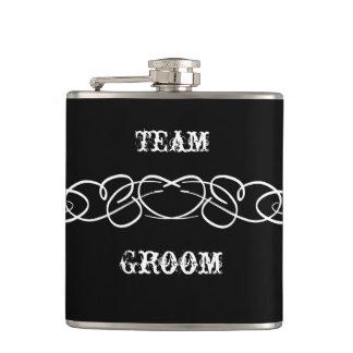 Team Groom Flask - Funny Groomsmen Gifts