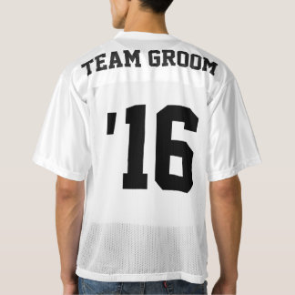 Team Groom Football Jersey