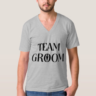 Team Groom - Funny Bachelor Party Tee