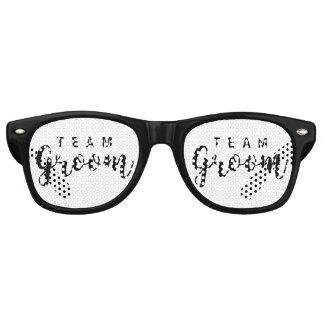 Team Groom Modern Wedding Favors for Groomsmen Retro Sunglasses