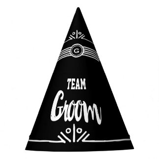 Team Groom party hat