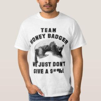 Team Honey Badger Tshirts