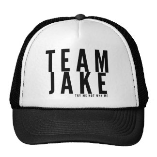 TEAM JAKE TRUCKER HAT