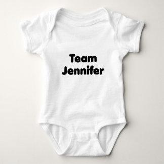 Team Jennifer Baby Bodysuit