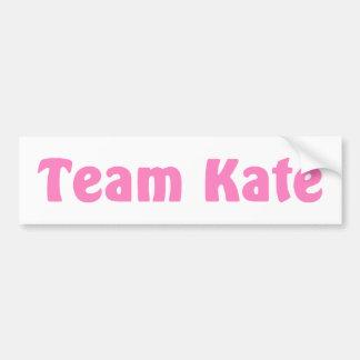Team Kate Bumper Sticker