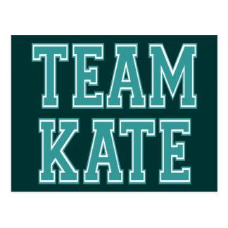 Team Kate Postcard