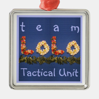 Team Lolo Tactical Unit Christmas Ornament