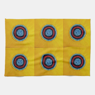 Team Matthew Sunflower for Autism Hand Towels