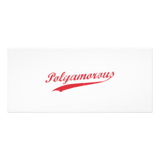 Team Polyamory Polyamorous and Proud Rack Card