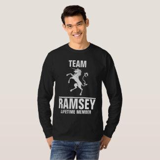 Team Ramsey lifetime member T-Shirt