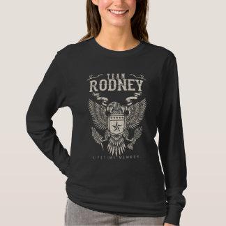 Team RODNEY Lifetime Member. Gift Birthday T-Shirt