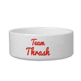 Team Thrash Pet Water Bowl