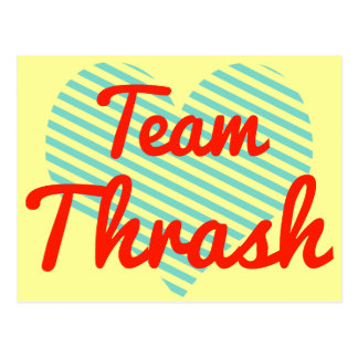 Team Thrash Postcards