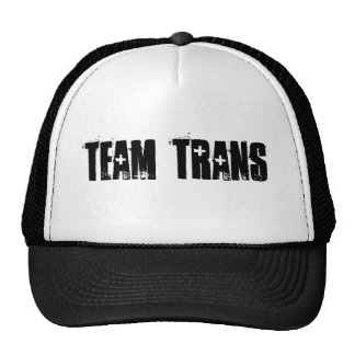 Team Trans Trucker Hat