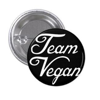 Team Vegan Pinback Button