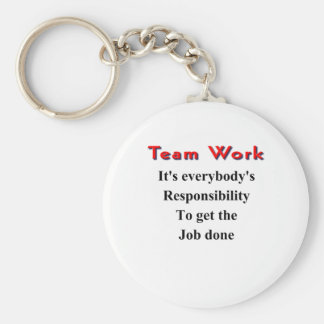 Team work key ring