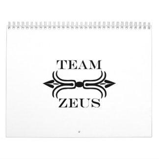 Team Zeus-English Calendars