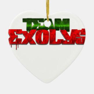 TeamExolys Ceramic Heart Decoration