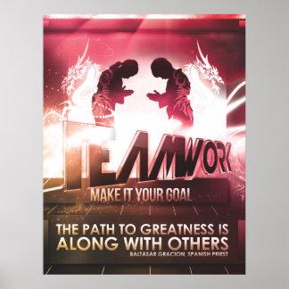Custom Teamwork Motivational Posters & Photo Prints | Zazzle.co.nz