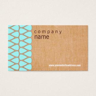 Teardrop Retro Business Card