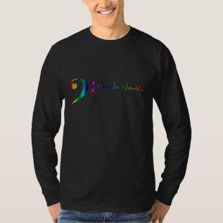 Technicolor Bass Pulse T-Shirt