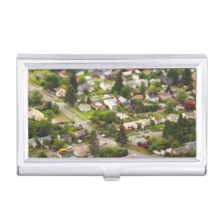 Technique #1- tilt/shift lenses business card holder