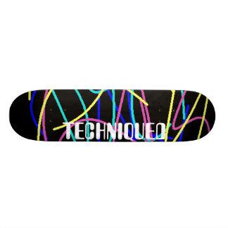 TECHNIQUED skate deck
