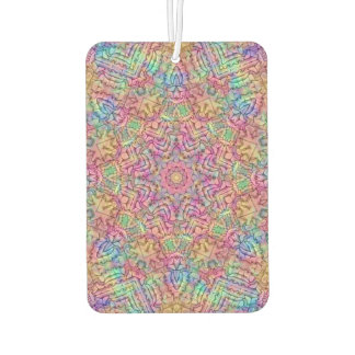 Techno Colors Pattern Air Fresheners, 4 styles