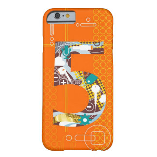 Techno Number 5 iPhone 6 case Barely There iPhone 6 Case