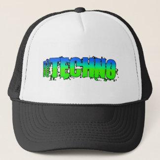 techno trucker hat