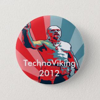 TechnoViking 2012 6 Cm Round Badge