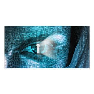 Techology Eye Card