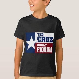 Ted Cruz and Carly Fiorina 2016 T-Shirt