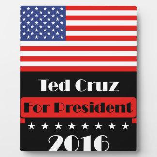 Ted Cruz for President 2016 Plaque