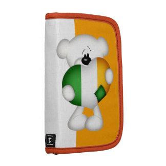 Teddy Bear and Big Irish Heart Folio Planners