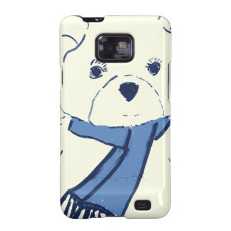 Teddy Bear and Hearts Galaxy S2 Cover