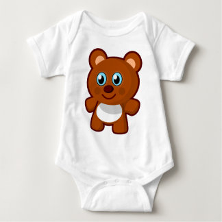 Teddy Bear Baby Bodysuit