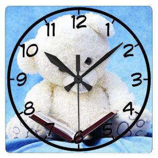 teddy bear clocks