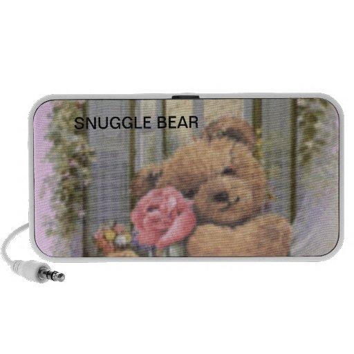 TEDDY BEAR Doodle Laptop Speaker