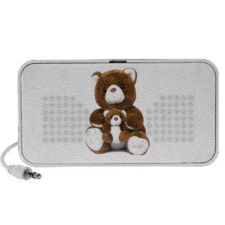 teddy bear laptop speaker