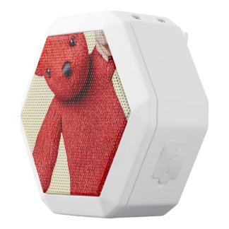 Teddy bear love white boombot rex bluetooth speaker