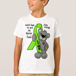 Teddy Bear Ribbon/Hugs  Lyme T-Shirt
