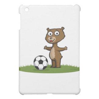 Teddy Bear Soccer iPad Mini Cover