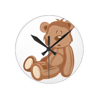 Teddy Bear Wall Clocks