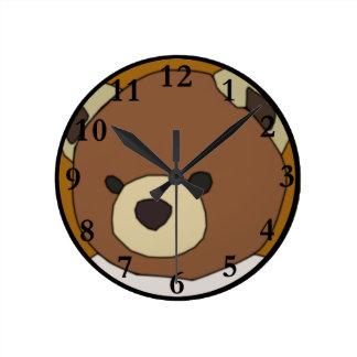 Teddy Bear Wallclocks