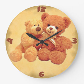 Teddy Bears Clock