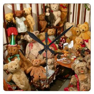 Teddy Bears Collectors Paradise Wall Clocks